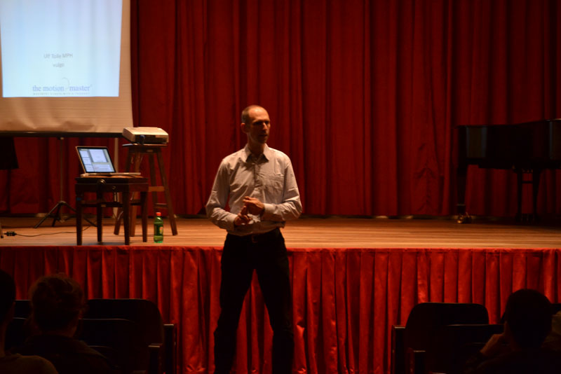 Ulf The Motion Master® – Speaking on Performance